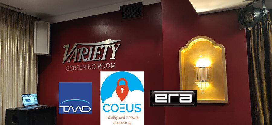TMD presents COEUS at ERA Customer Event in Soho, London