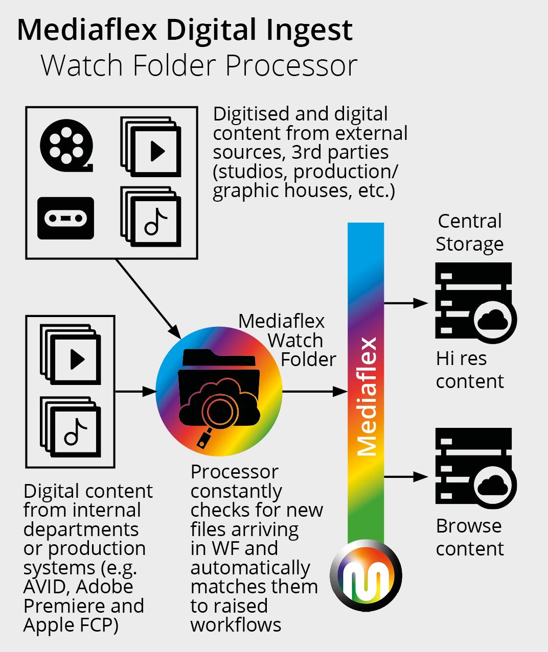 Mediaflex Digital Ingest