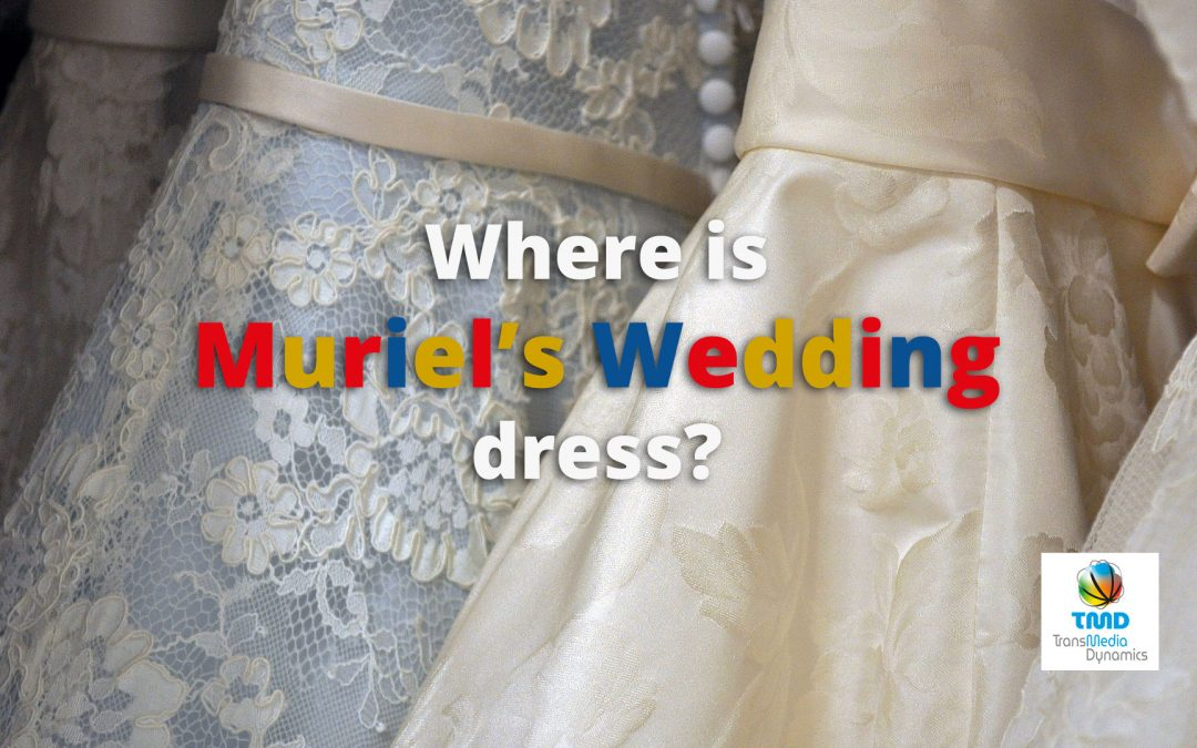 Muriels Wedding Dress in the NFSA Collection